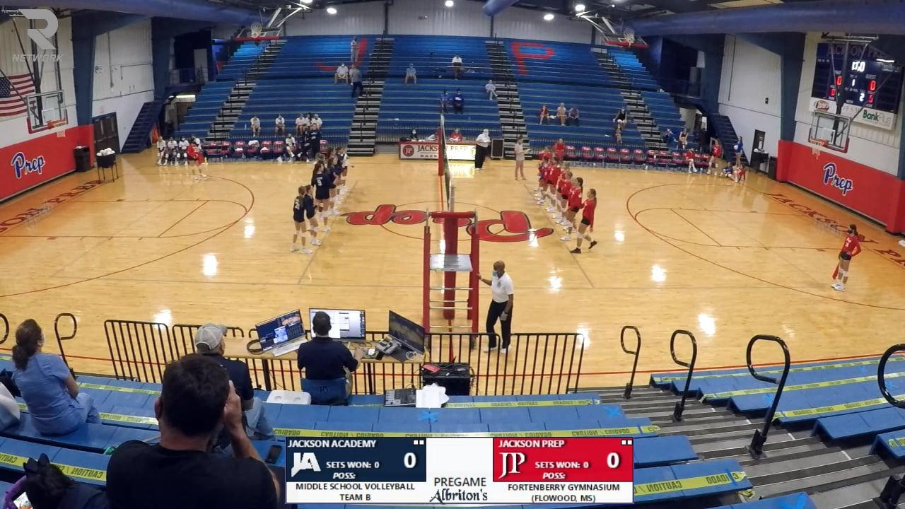 MS Volleyball B-Team vs Prep - 08-27-20