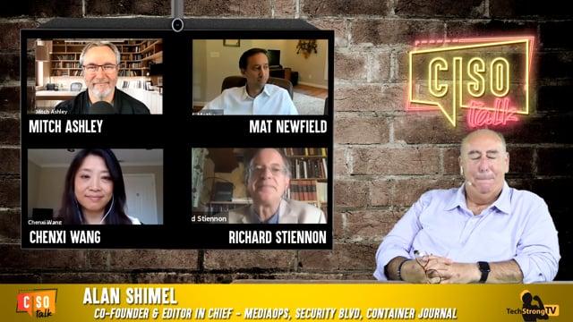 CISO Talk 2020 EP 4 - TechStrong TV