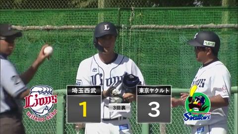 【ファーム】ライオンズ・戸川 フルカウントからライト前に鋭い打球のタイムリーヒット!! 2020/8/29 L-S(ファーム)