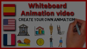 Animación de vídeo en pizarra blanca para Youtube