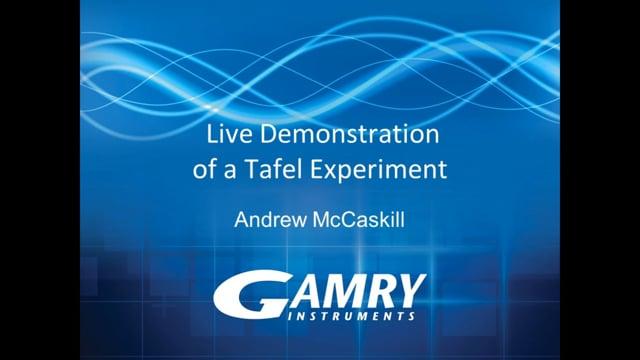 A Tafel Experiment - Calculating Tafel Constants