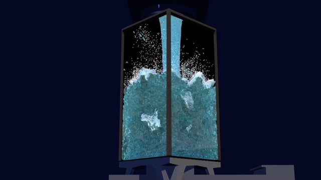 A'DAM Toren, Study from water (IJ), 3d-mapping, Sail Amsterdam 2020