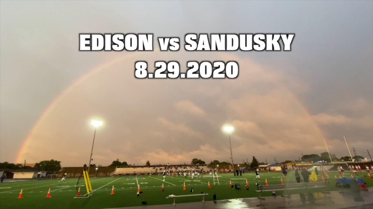 Week 1 FB Edison v. Sandusky