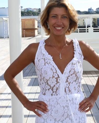 Video: Pendente Madreperla Bianca Abalone Argento Massiccio 925