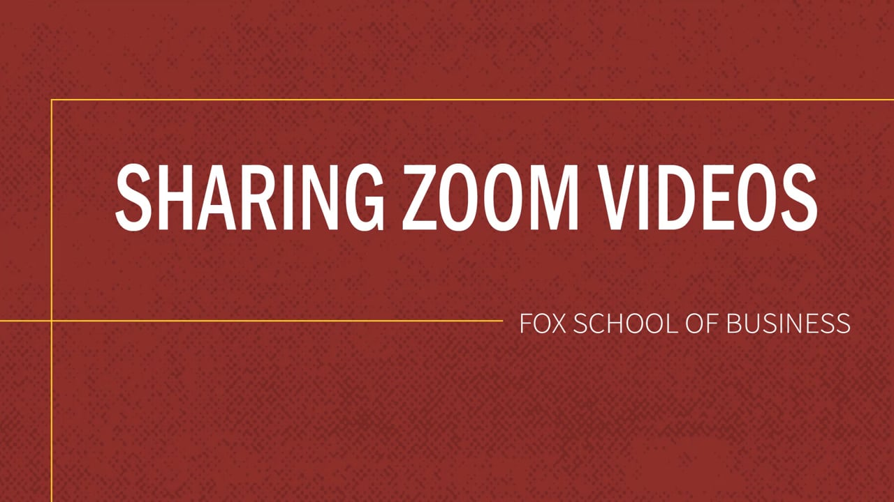 61842Sharing Zoom Video in Canvas