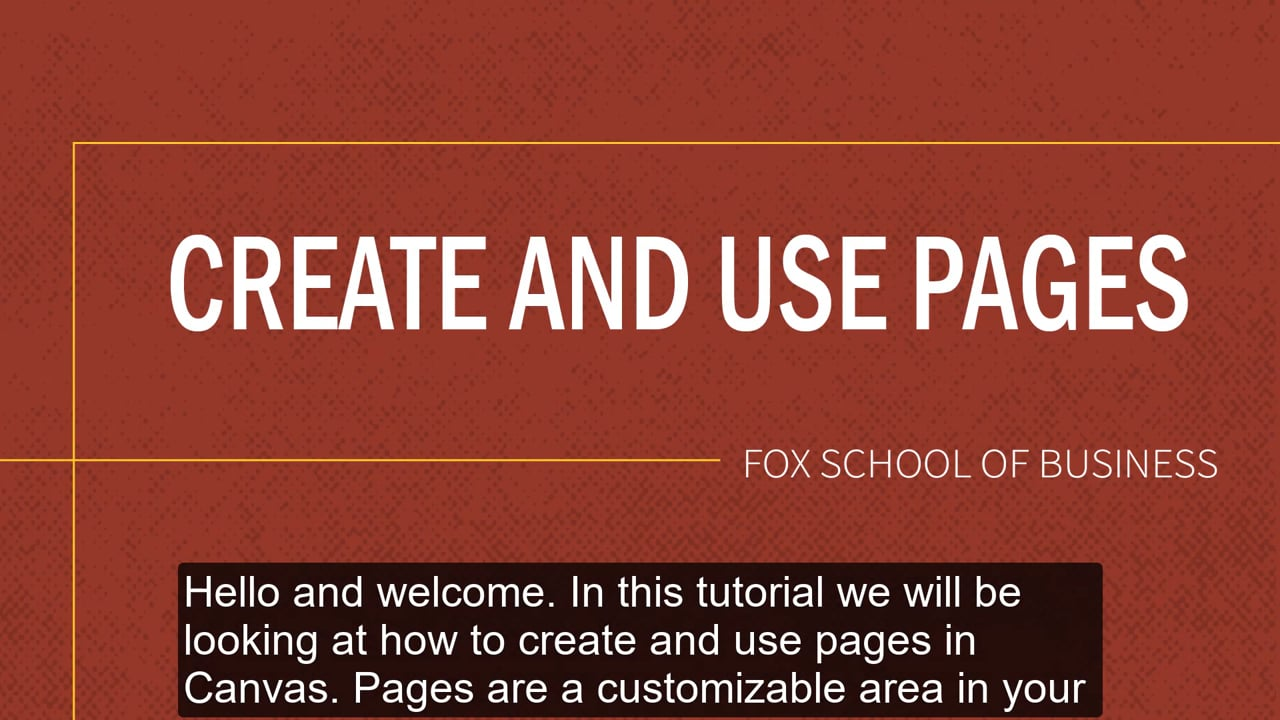 61832Create and Use Pages