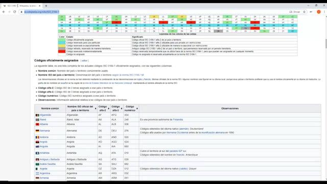 74 COMBINAR EN UNA CONSULTA DATOS EXTRAIDOS DE UNA PAGINA WEB