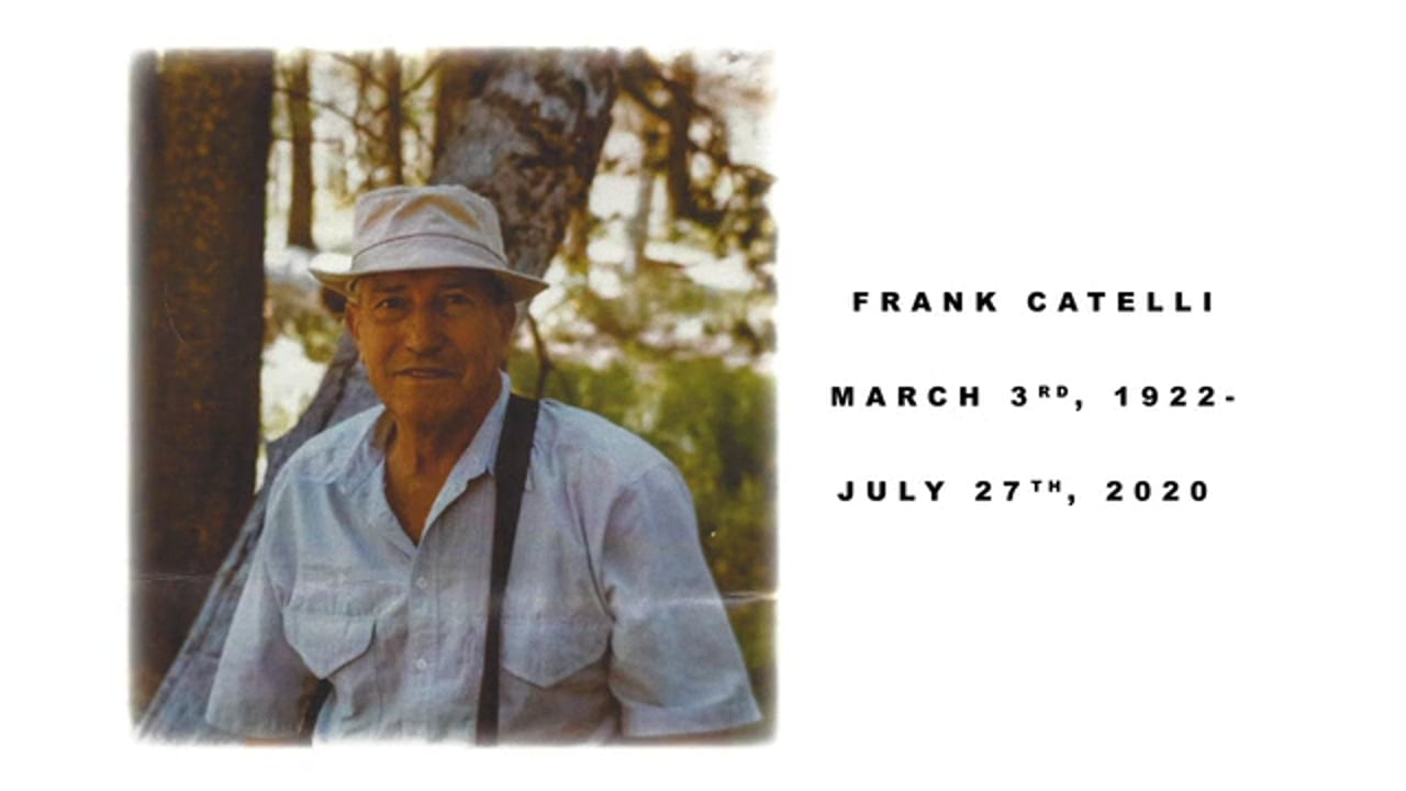 Frank Catelli Memorial with Military Honors at Riverside National Cemetery