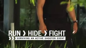 Button to play video: Active Shooter Survival Training
