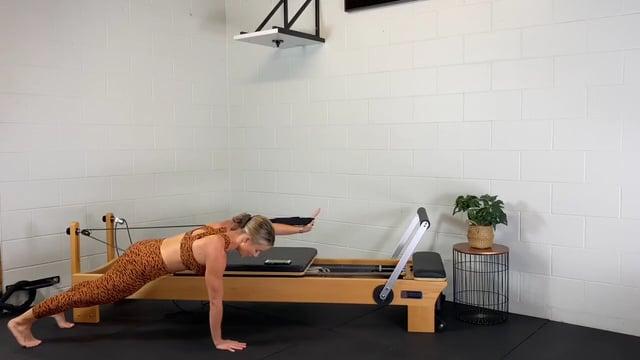 30min upper body reformer workout