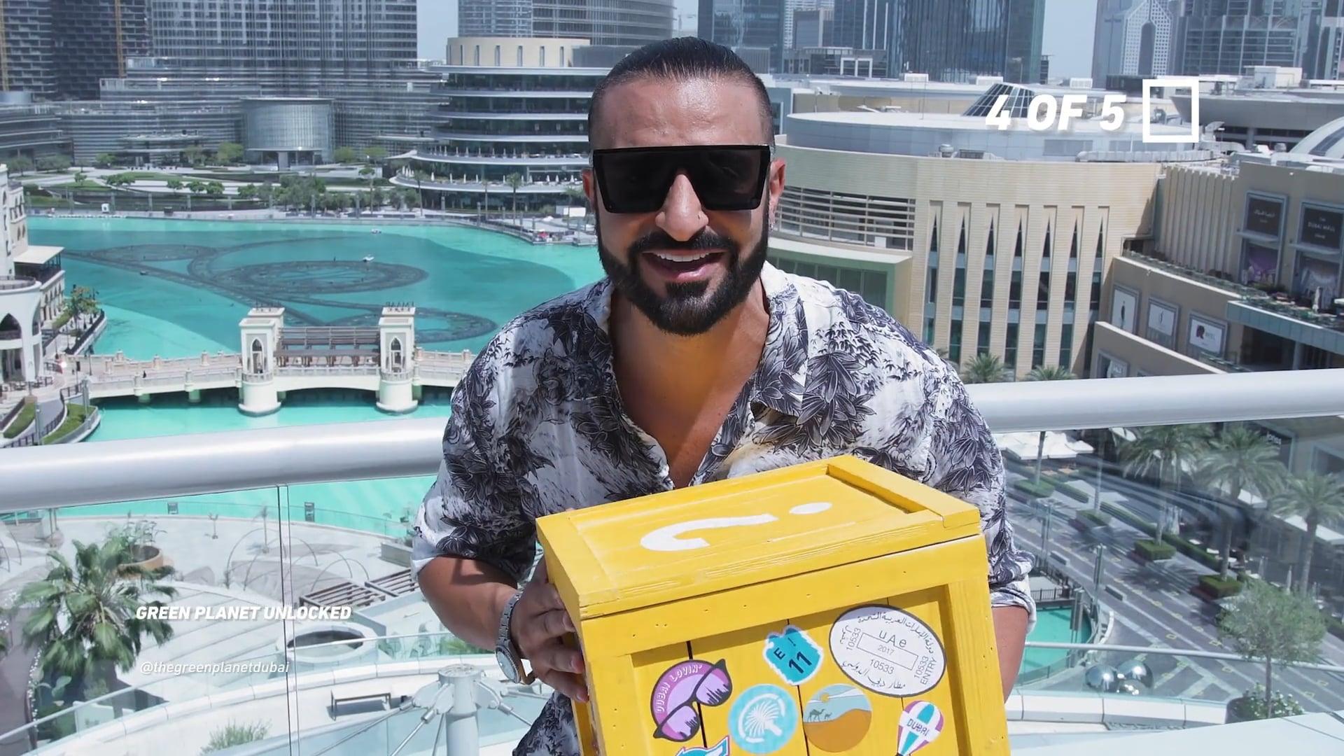 Dubai Tourism 'Unboxing' Campaign   Kris Fade