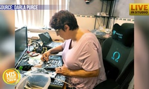 Single mom learns to fix computers and a decade later she uses that skill to help her community!