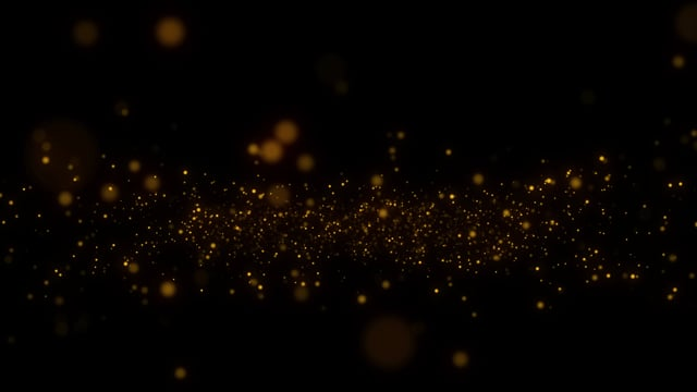 golden, particles, overlay
