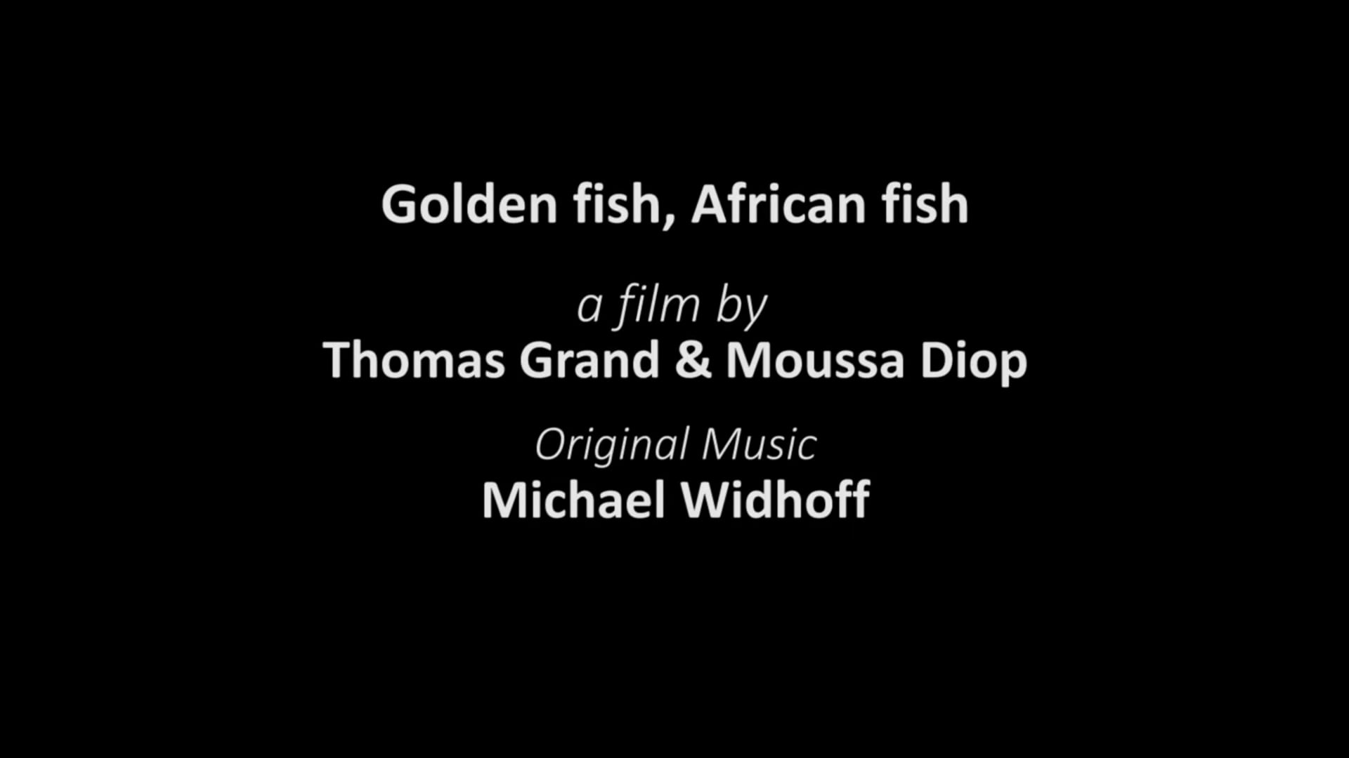 TRAILER GOLDEN FISH AFRICAN FISH