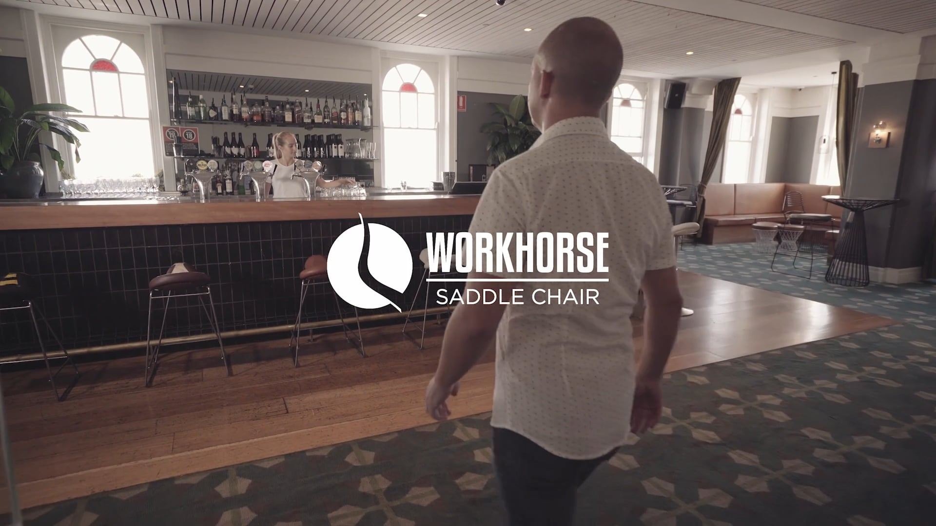 Workhorse Saddle Chair