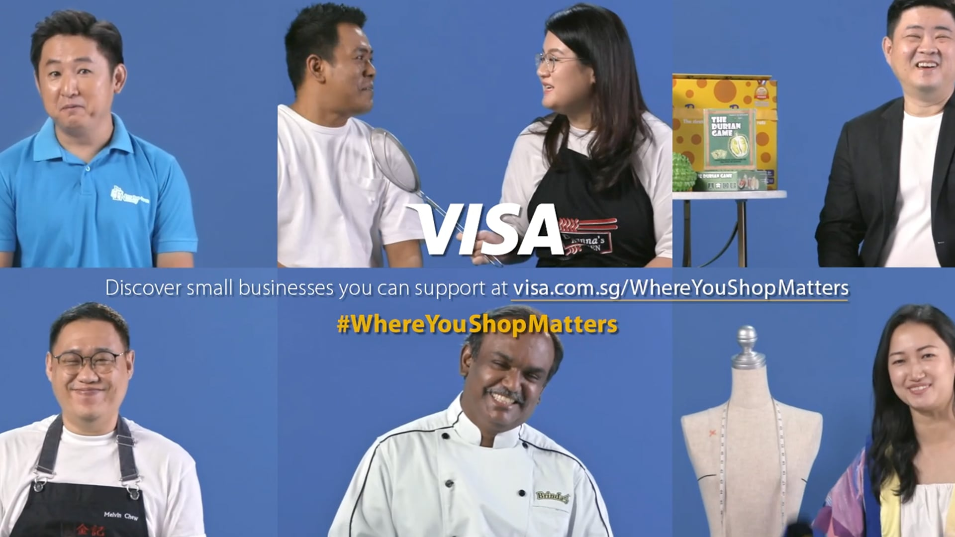 Visa   #WhereYouShopMatters