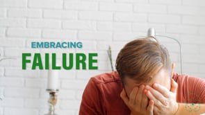 Why it matters to embrace failure