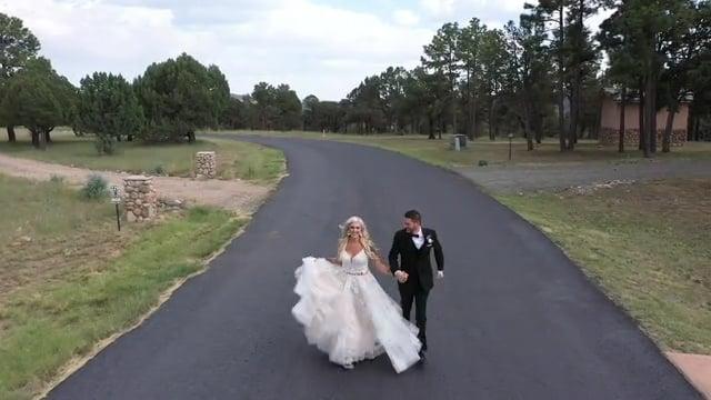 Amy + Joe Wedding Celebration Highlights - Ruidoso, NM Aug 2020