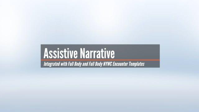 Assistive Narrative