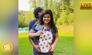 Lizz's grand baby will be a baby...???? Listen for the gender reveal!