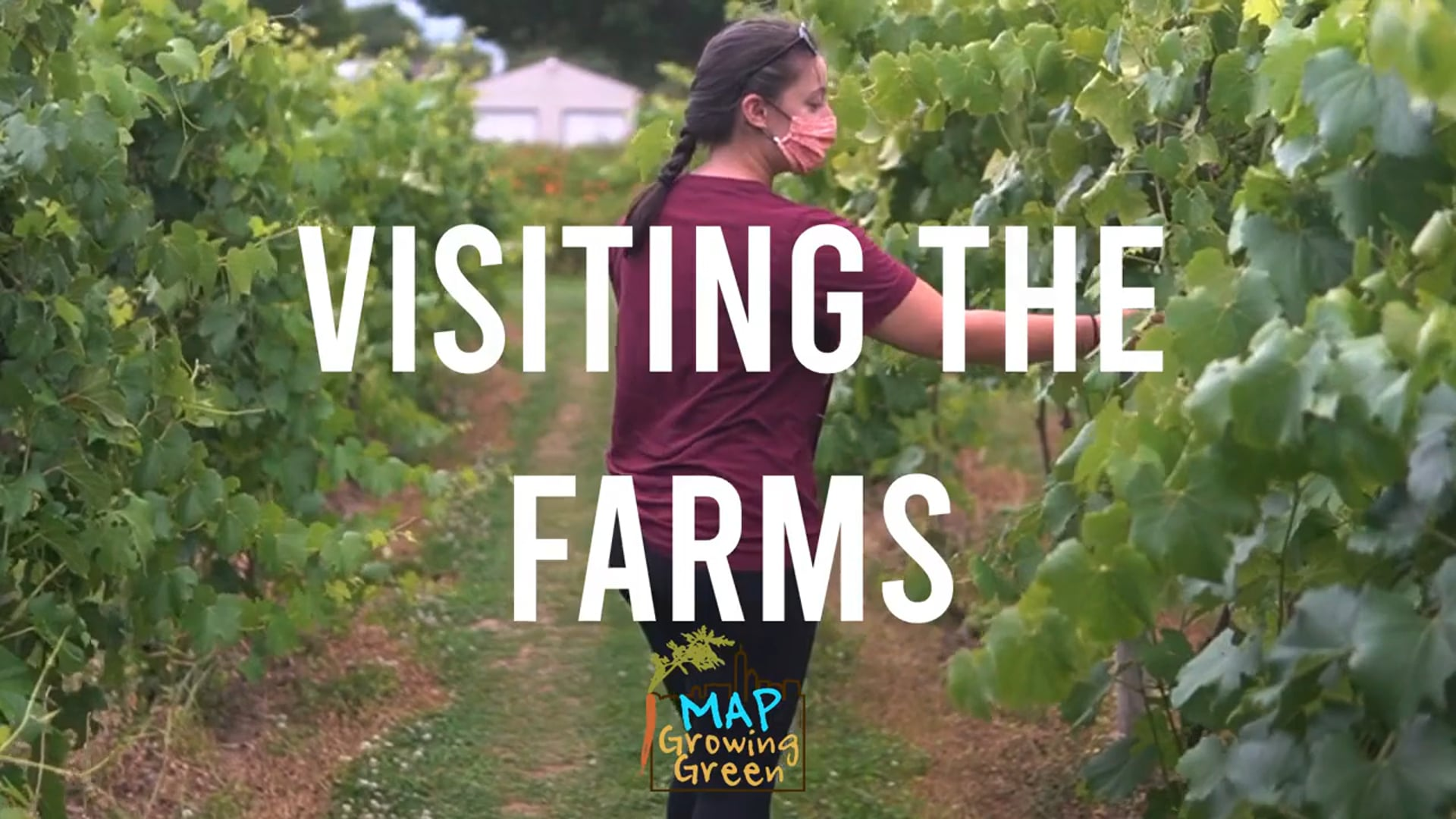MAP Youth Rifat visits MAP's Farm Partners!