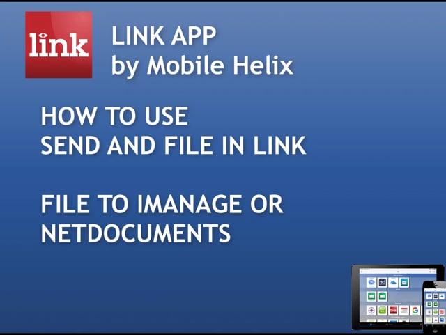 LINK App - Send & File to DMS 4:40