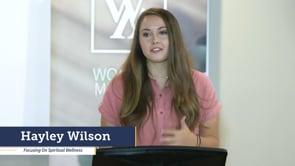 Hayley Wilson - Focusing on Spiritual Wellness | Focus Women's Leadership Conference | SBC of Virginia