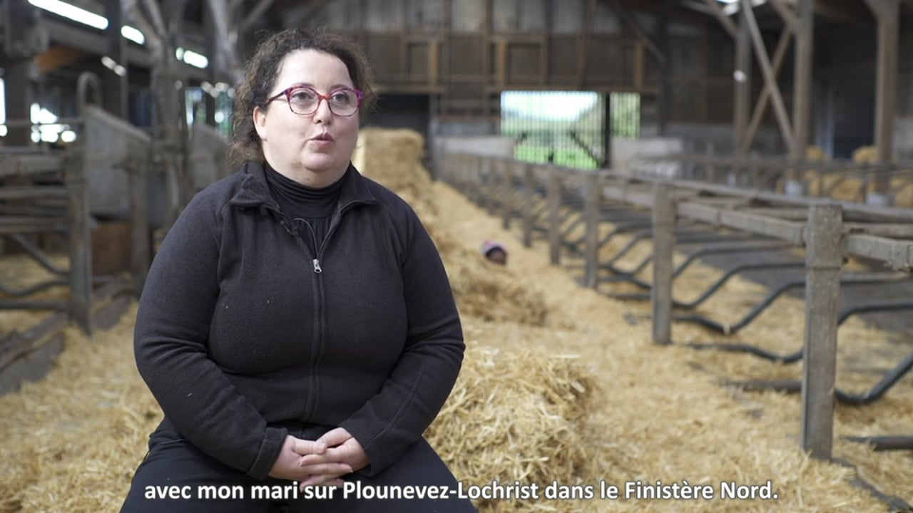 [Contenu partenaire] Parcours d'agriculteurs : Anne Guegaden est devenue agricultrice par amour
