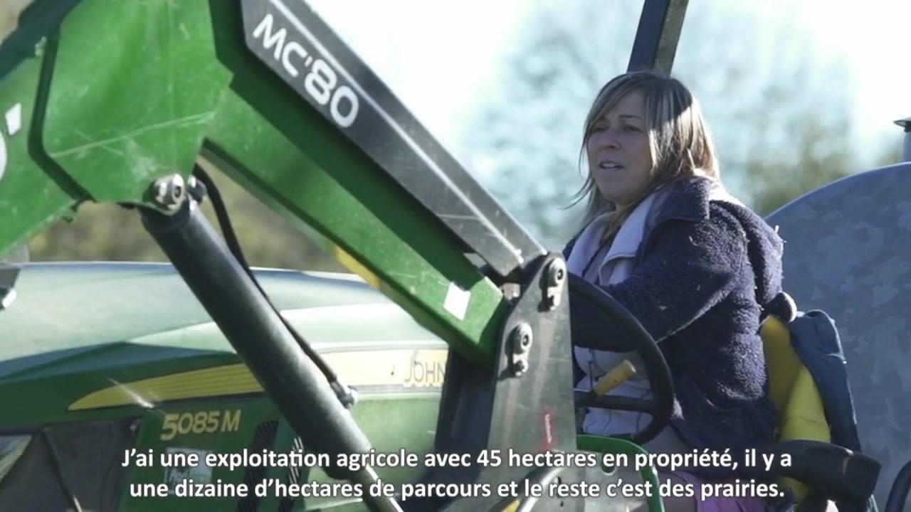 [Contenu partenaire] Parcours d'agriculteurs : Christelle Record, éléveuse de bovins viande, aime sa liberté