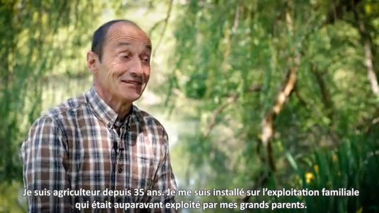 [Contenu partenaire] Parcours d'agriculteurs : Christophe Hidreau, céréalier, a poursuivi l'aventure familiale