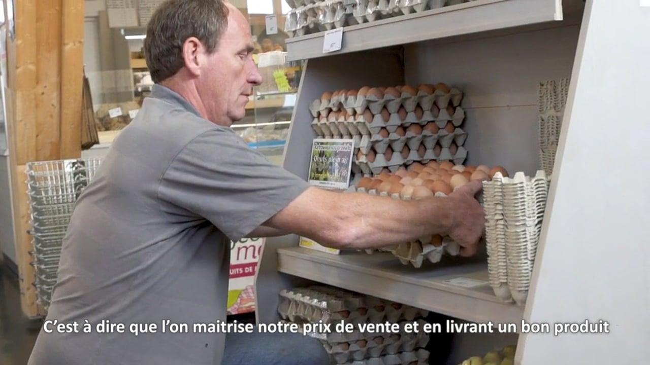 [Contenu partenaire] Parcours d'agriculteurs : Hubert Hottier mise sur la diversification et la vente directe
