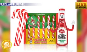 Would you try one of these candy cane flavors?? Ewwww!