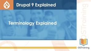 Terminology Explained
