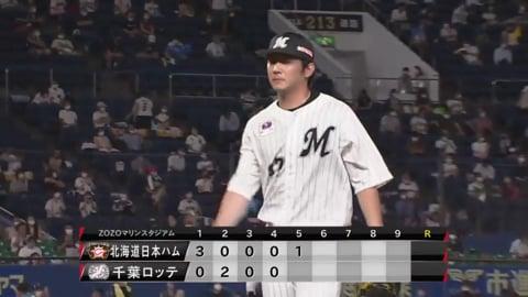 【8回表】マリーンズ・小野が相手打線を3者凡退に抑える!! 2020/9/10 M-F