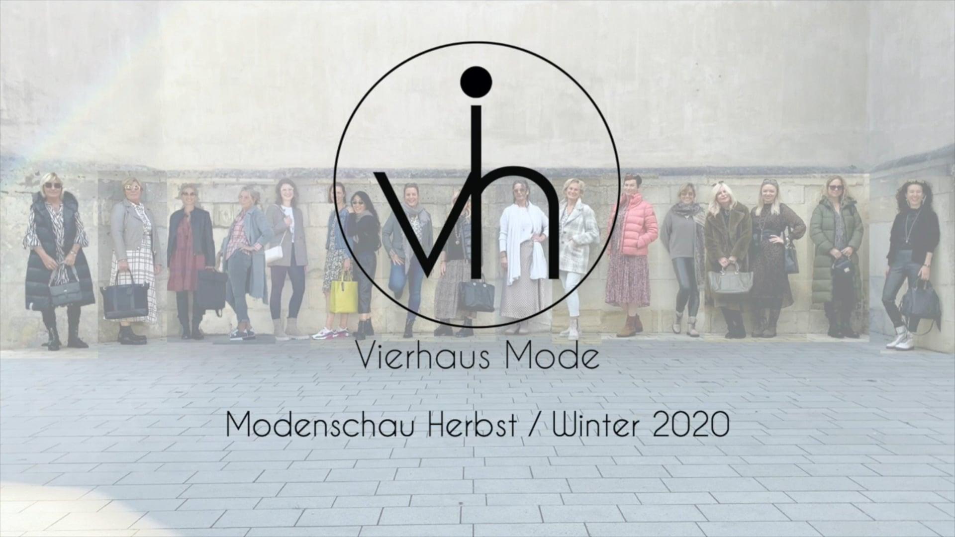 Vierhaus Mode - Modenschau Herbst / Winter 2020