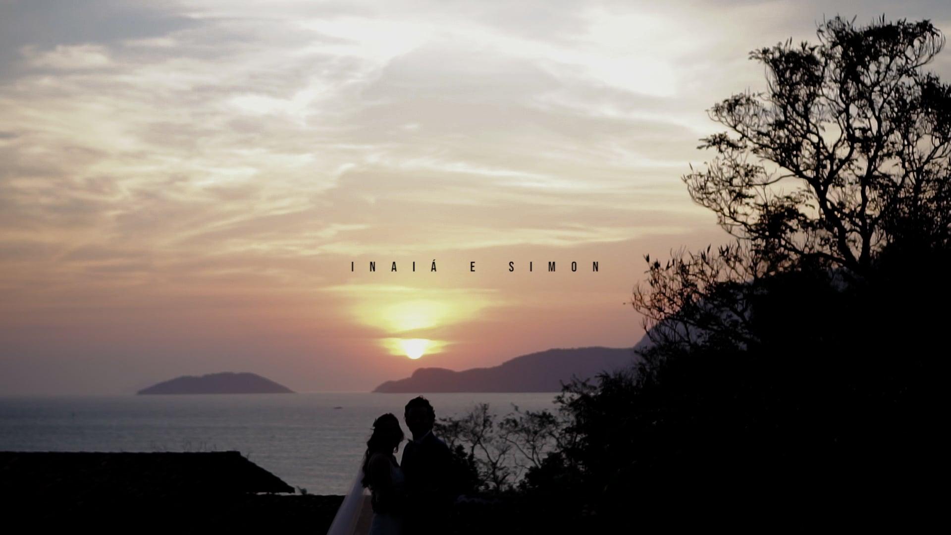 the sunset in the paradise - Inaiá e Simon