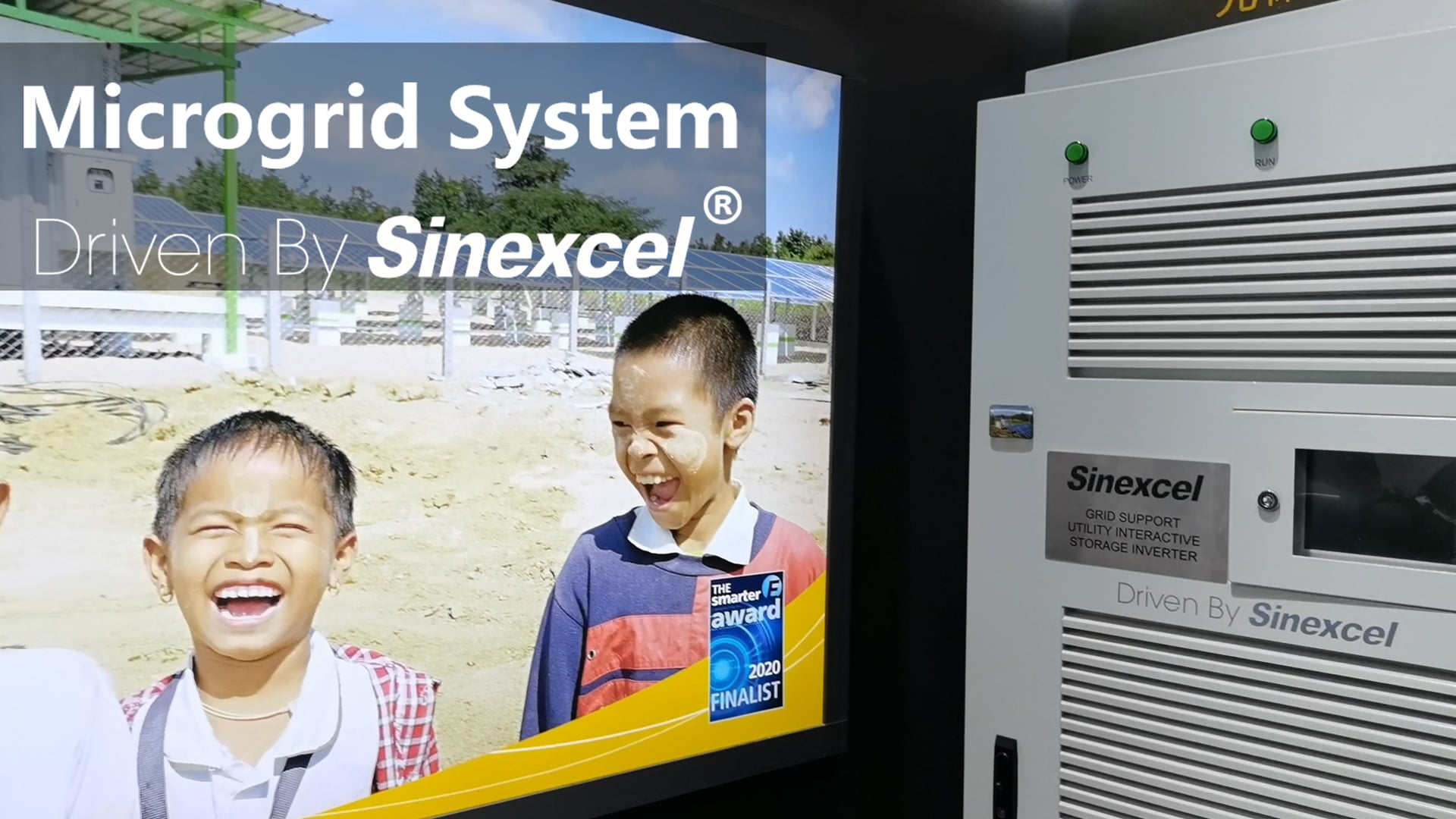 Microgrid system driven by Sinexcel