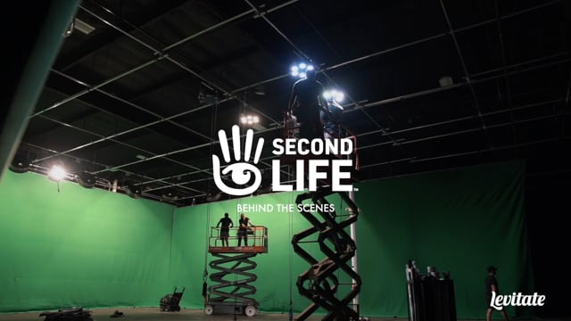 """Second Life - Behind the Scenes of """"Children of Creation """" - Levitate Media"""