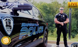 Officer Adams responded to a call about a vehicle with a child not in a car seat. What happened next
