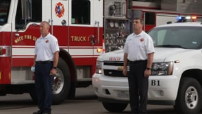 Waco Fire Department Remembers 9-11