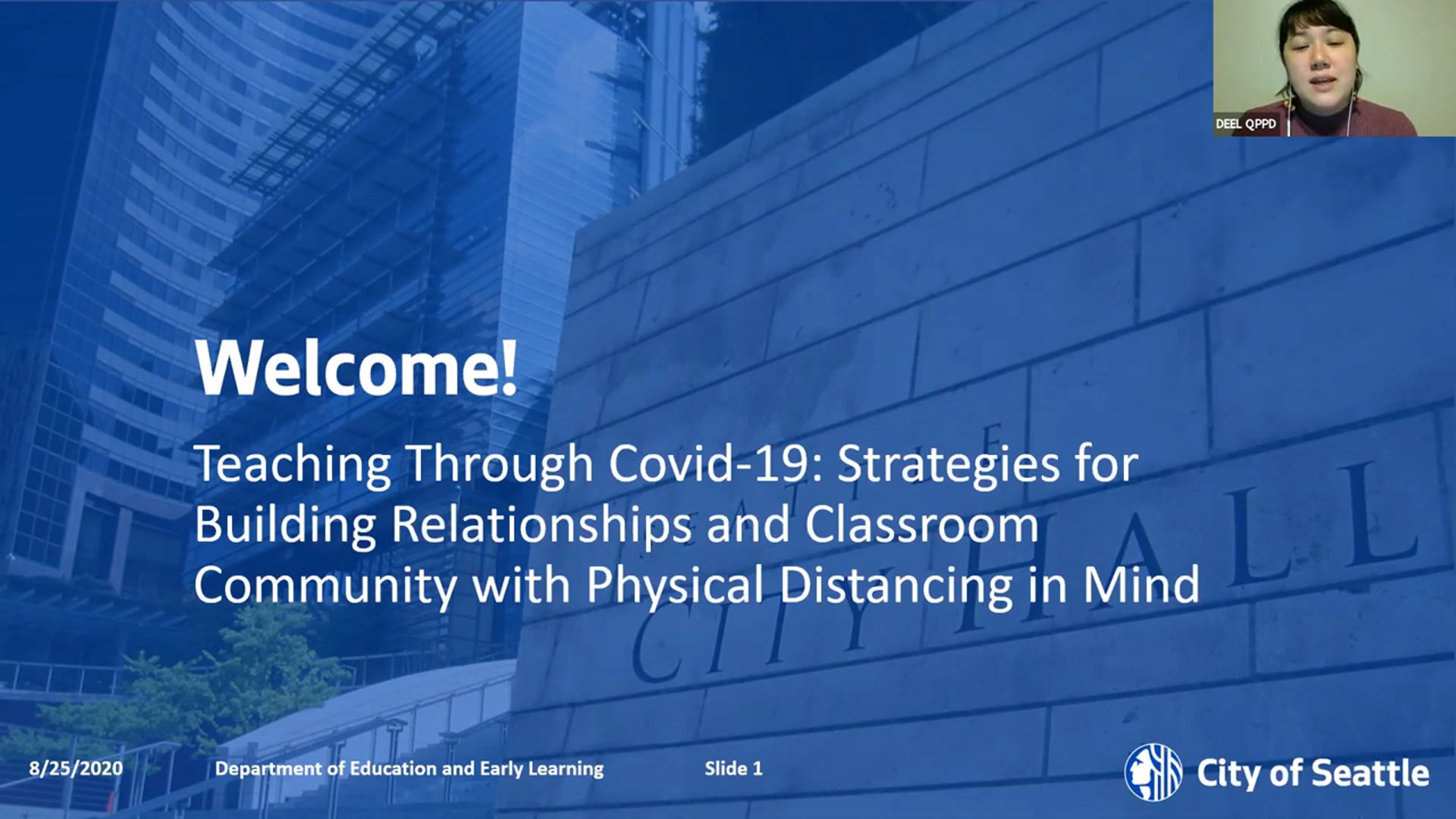 Teaching Through COVID-19: Strategies for Building Relationships and Classroom Community with Physical Distancing is Mind
