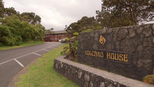 Hawaii Historic Volcano House Hotel