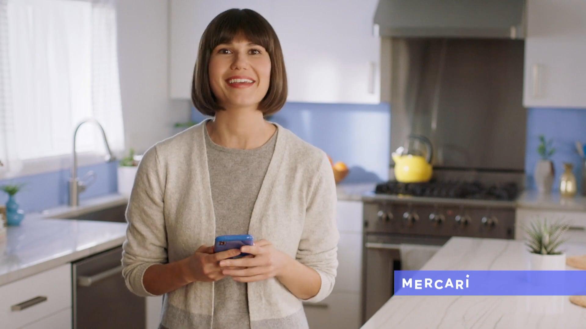 "Mercari ""Anyone Can Sell"" :15  Agency - Rain TGA  Role - Editor"