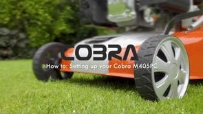 COBRA Petrol Lawnmower M40SPC