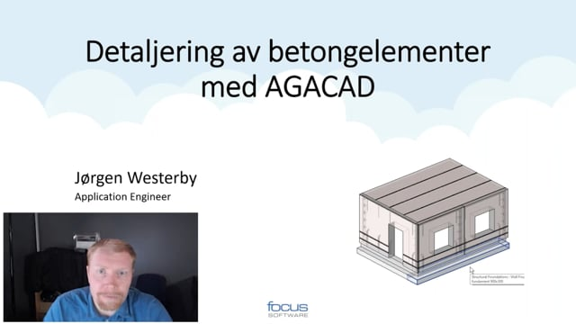 Detaljering av betongelementer med AGACAD