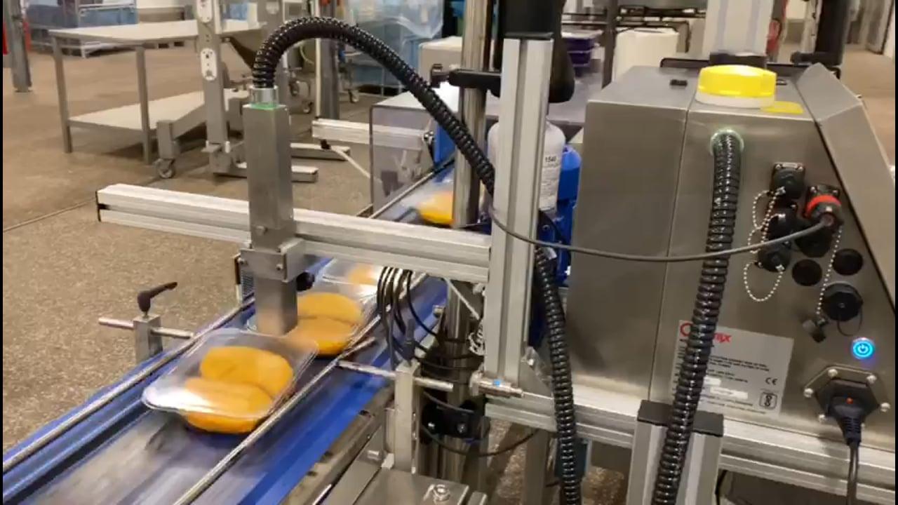 Inkjet coderen in voedingsindustrie
