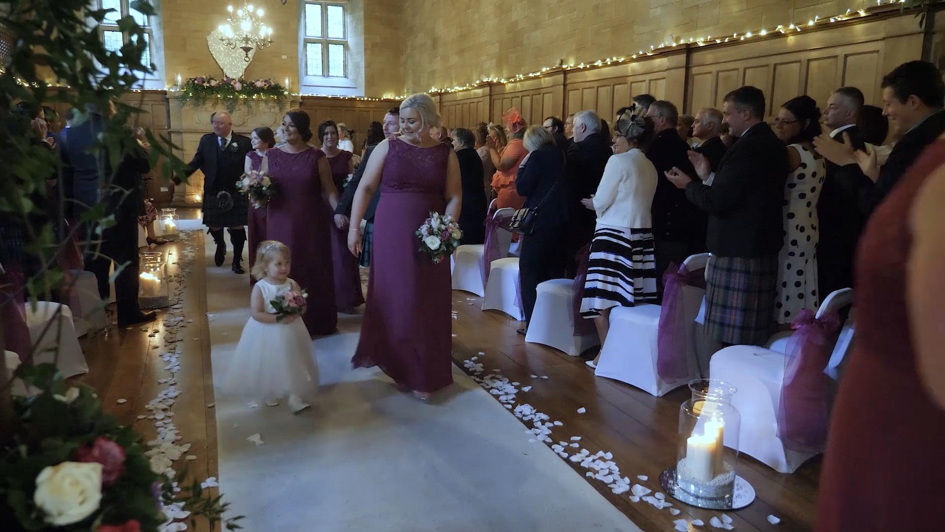 Samantha & Nial Milne Wedding Highlights