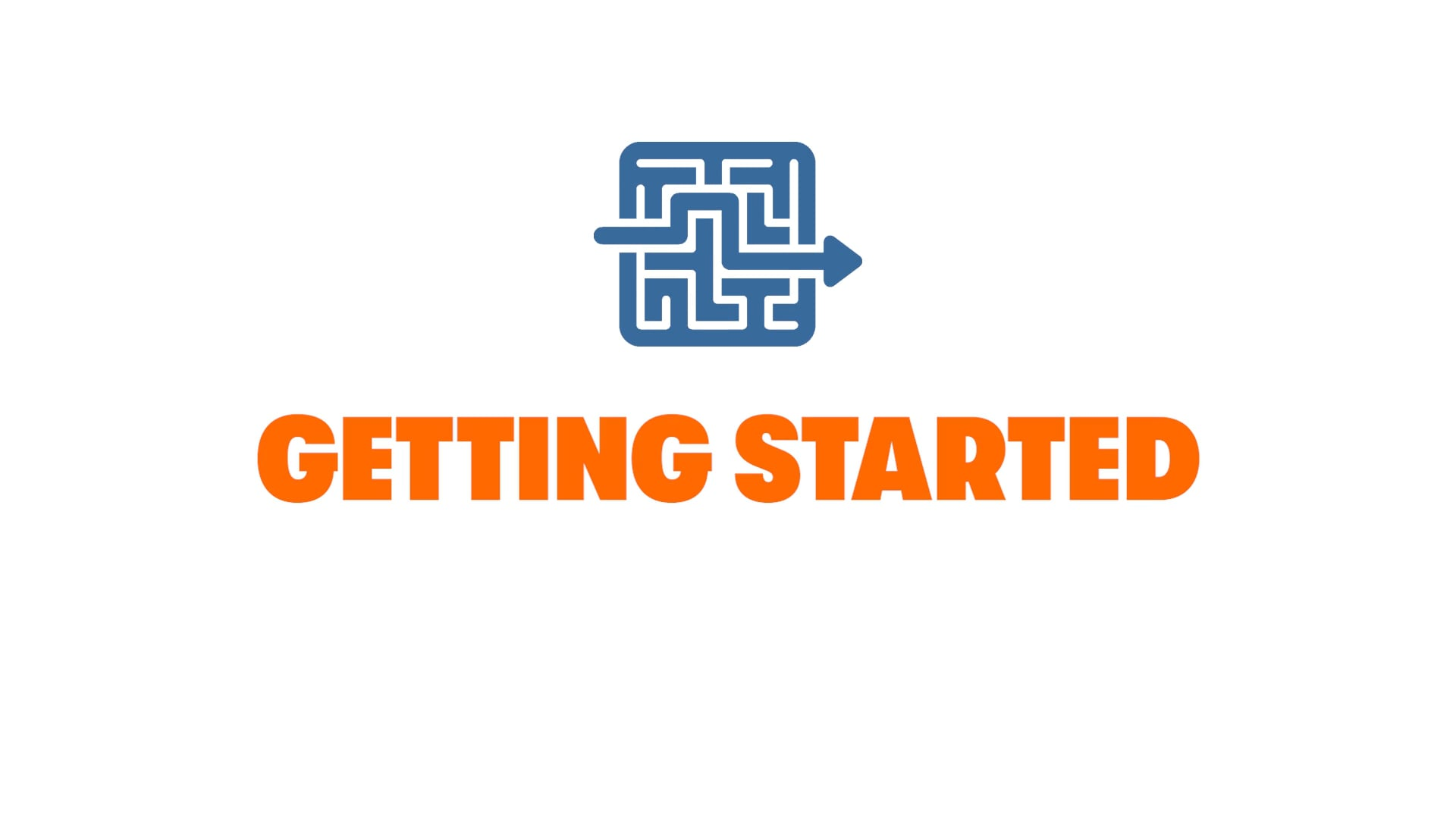 Get in the Game: Getting Started