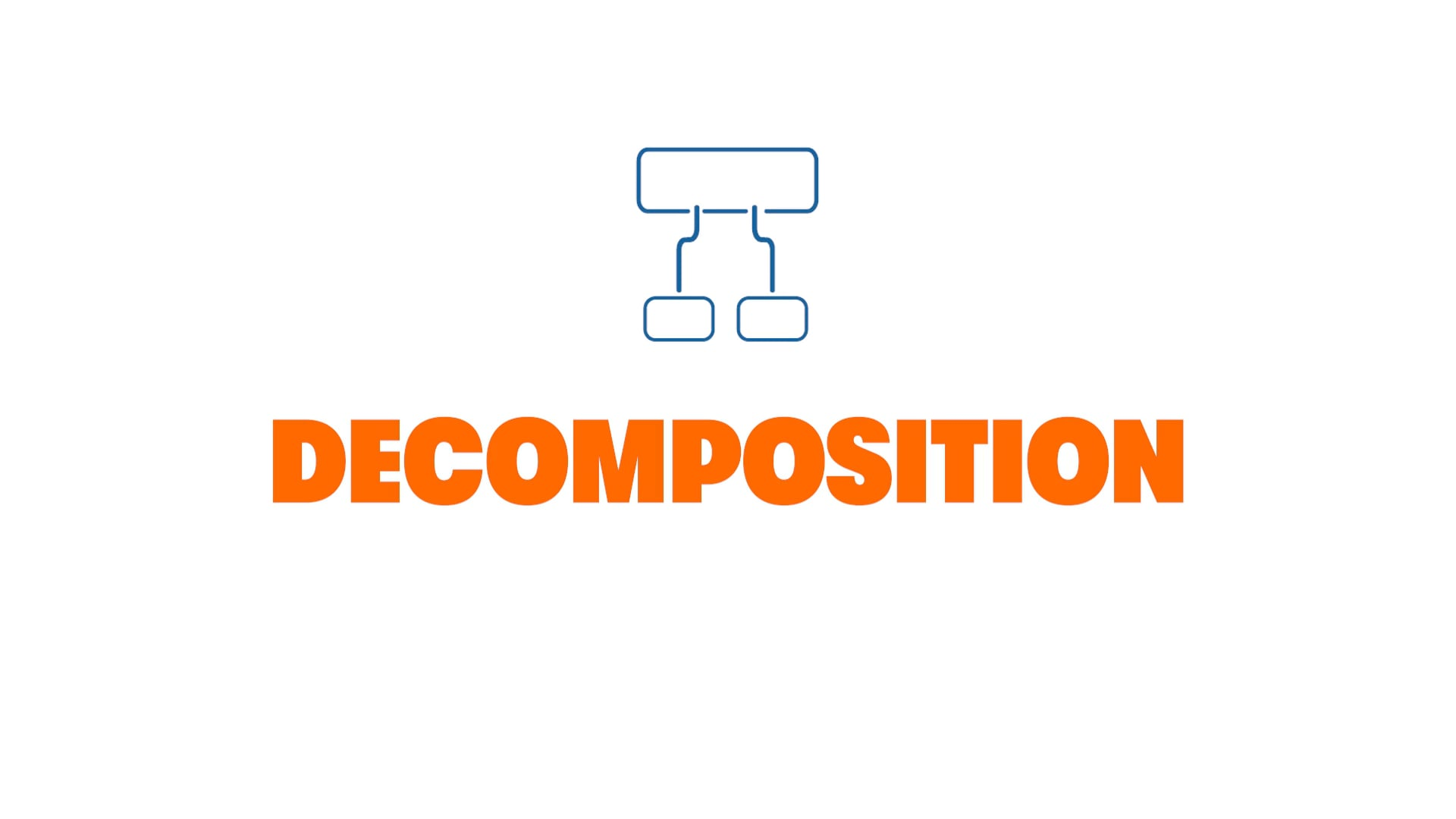 Get in the Game: Decomposition