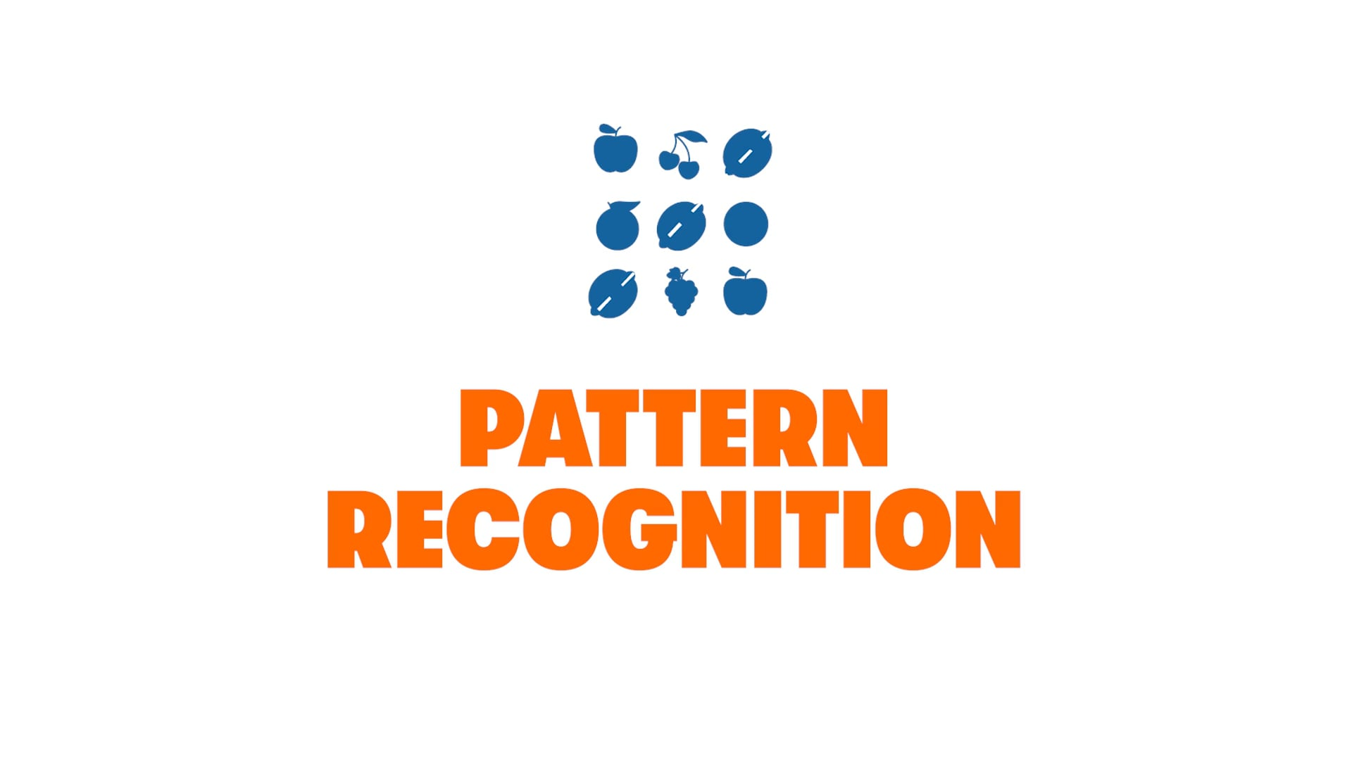 Get in the Game: Pattern Recognition